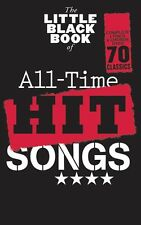The Little Black Book All Time Hit Songs Play Lyrics Guitar Chords Sheet Music