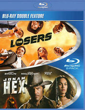 The Losers and Jonah Hex (BD)(DBFE) [Blu-ray], New DVDs