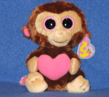 "TY BEANIE BOOS - CASANOVA the 6"" MONKEY - MINT with MINT TAGS"