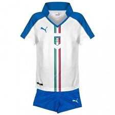 Puma Italy away football kit 3-4 years BNWT shirt+shorts 2015-2016
