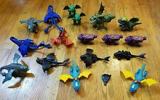 How to Train a Dragon 2010 McDonald's Complete Set Lot of 17 Toys Toothless
