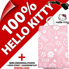 Hello Kitty Funda Para Teléfono Bolso iPhone 3GS 4 4S 5 5S SE Samsung Galaxy S2