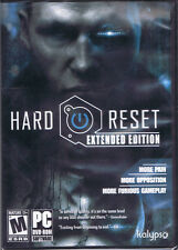 Hard Reset: Extended Edition (PC, 2012, Flying Wild Hog, SEALED NEW)