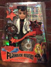 MGA Bratz FLASHBACK FEVER CADE Totally Awesome 80's NRFB Boy Doll Extra Outfit
