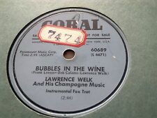 LAWRENCE WELK BUBBLES IN THE WINE & JOSEPHINE CORAL 60689