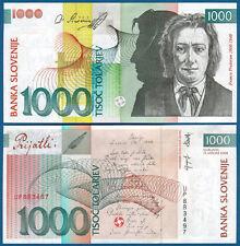 SLOWENIEN / SLOVENIA 1000 Tolarjev 2004  UNC  P. 32