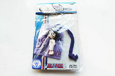 BLEACH ANIME FIGURES 'RUKIA KUCHIKI' KEY CHARM WITH SMALL POUCH Banpresto NEW