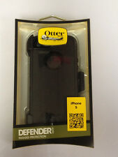 OtterBox Defender Hard Rugged Case w/Holster Belt Clip for iPhone 5 & 5S (Black)