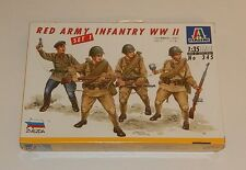 ITALERI WWII RED ARMY INFANTRY UNITS 1:35 Scale N0 345 Model Kit Sealed Set 1 R8