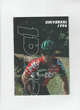 UNIVERSAL CYCLE BROCHURE / BICYCLE POSTER 1996 - RIVIERA / BMX / SIERRA NEVADA