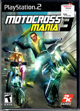 Motocross Mania 3 Game For PS2 Playstation 2 NEW Sealed Black Label