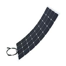 Panneau solaire flexible 100W camping-car, caravane, voiture, bateau, nautisme