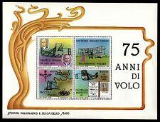 FOGLIETTO I PIONIERI DEL VOLO WRIGHT DELAGRANGE FACCIOLI  CALDERARA IPZS 1978