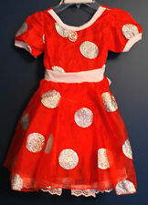 New Disney Parks MINNIE MOUSE Red Costume Dress XSmall XS (4/5)