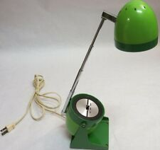 Mid Century Electric Desk Lamp Avocado Green Model 60 Retro Vintage Hamilton