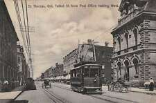 St Thomas Ontario Canada west on Talbot St from post office Antique pc Y10578