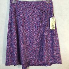 NEW Freedom Trail By Kyodan Women's Purple XS Knee Length Knit Skirt