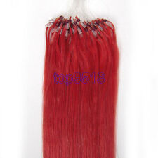 """16~26""""100s Micro Ring Beads Easy Loop Ombre Remy Human Hair Extensions Straight"""