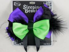 New Disney Sleeping Beauty Maleficent Cosplay Hair Bow Pin Clip Costume Dress Up