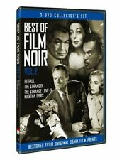 Best of Film Noir, Vol. 2: Pitfall/The Stranger/T (2013, DVD NIEUW) BW3 DISC SET