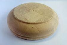 Möbelfüße Holzfüße Schrankfüße Holz Gummibaum Fuß gedrechselt Ø 165 mm