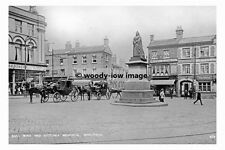 pt7399 - Wakefield , Bull Ring & Victoria Monument  , Yorkshire - photograph 6x4