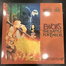 1985 'Ewok The Battle For Endor' Movie Laser Disc Star Wars George Lucas EUC