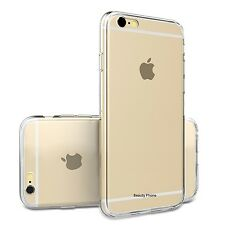 "FUNDA CARCASA 100% SILICONA GEL PARA IPHONE 6 (4,7"" )TRANSPARENTE"