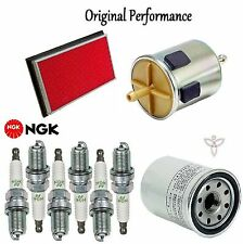 Tune Up Kit Air Oil Fuel Filters Spark Plugs for Nissan Maxima V6; 3.0L 96-99
