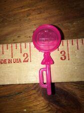 Barbie Hot Pink Clear Pumpkin Lollipop Sucker Candy Tommy Kelly Food Accessory