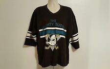 The Mighty Ducks Adult Black XL Jersey