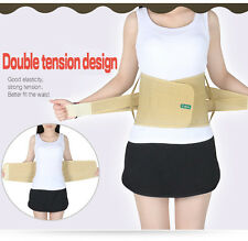 Lumbar Lower Waist Back Support Brace Belt strap pain relief therapy support M