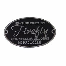 Firefly Engineering By Coach Works Embroidered Patch