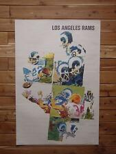 1968 Los Angeles Rams   2' X 3'  Sports Illustrated S. I. Poster FLASH SALE