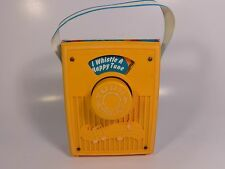 FISHER PRICE POCKET RADIO MUSIC BOX 1977 I WHISTLE A HAPPY TUNE #763