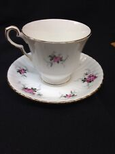 Vintage Bone China Cup & Saucer ENGLAND Hammersley Princess House Exclusive