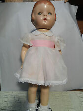 "Antique Baby Doll (stands about 19"" tall)"