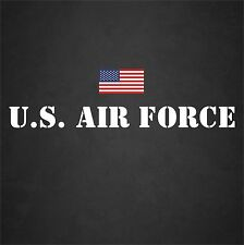 Large U.S. Air Force USAF Window Decal Sticker Military Freedom Veteran America
