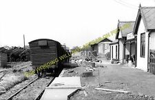 Elvington Railway Station Photo. Dunnington - Wheldrake. Derwent Valley Railway