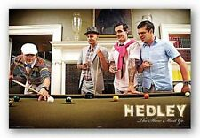 ROCK MUSIC POSTER Hedley Pool Table