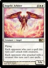 ANGELIC ARBITER M11 Magic 2011 MTG White Creature — Angel RARE