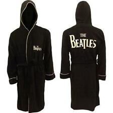 Beatles: Classic Logo Drop T Bathrobe / Dressing Gown - New & Official With Tag