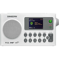 Sangean Internet Radio DAB FM USB Network Music Player Digital Receiver WFR27CWH