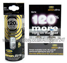 Ring Xenon Ultima 120% Brighter H1 RW1248 100% Gas Car Head light Lamp Bulb+Free