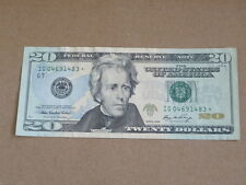 2006 $20 Chicago Illinois Star Currency Note Au Cu 1313G