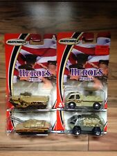 Matchbox Heroes Series Lot Of 4