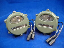 M35A2 EARLY STYLE FRONT MARKER LIGHT SET OF TWO M35A1 M37 M38