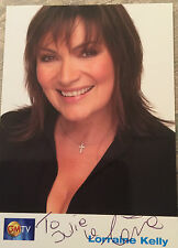 6x4 Hand Signed Photo of Lorraine Kelly   GMTV