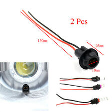 2x Car SUV T10 W5W 168 194 Socket Connector Extension LED Wedge Light Base New