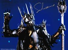 SALA BAKER as Sauron - Lord Of The Rings GENUINE AUTOGRAPH UACC (Ref:730)